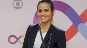 Nanda Costa na inauguração dos novos estúdios da Globo; atriz está no elenco da novela Amor de Mãe (Foto: Globo/Victor Pollak)