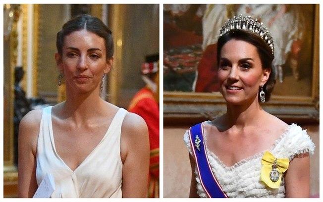 Rose Hanbury e Kate Middleton (Foto: Reprodução)
