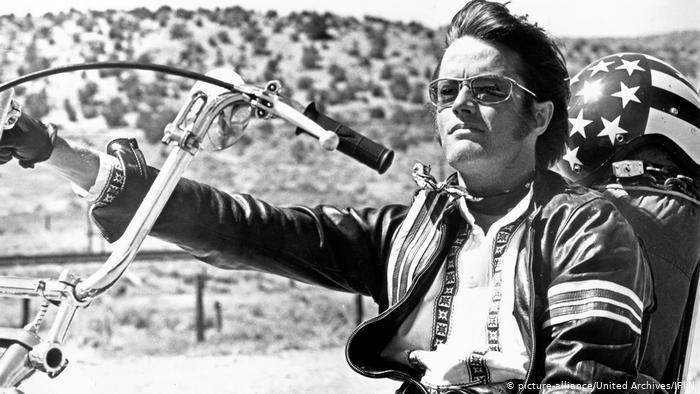 Peter Fonda no filme Easy Rider (Foto: Reprodução)