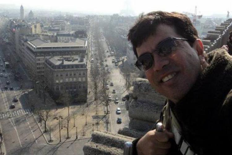 O cantor Edilson Dhio morreu após cair da varanda da sua casa (Foto: Divulgação)