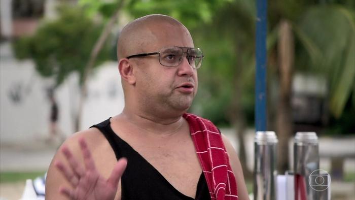 Welder Rodrigues em cena do humorístico Zorra, que teve audiência recorde na temporada (Foto: Reprodução/Globo)