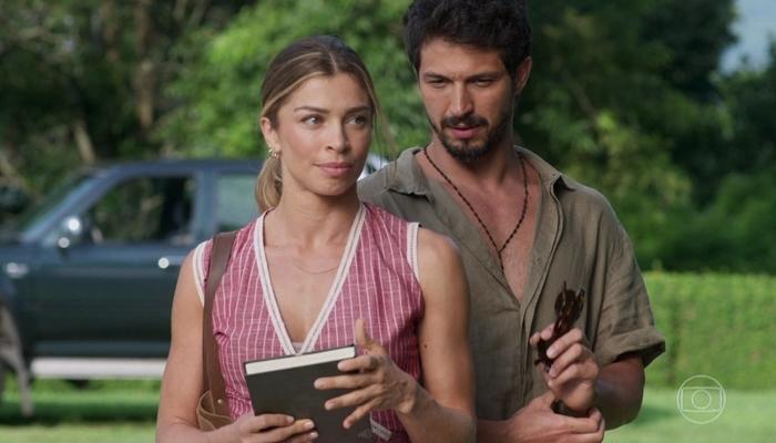 Paloma (Grazi Massafera) e Marcos (Romulo Estrela) em Bom Sucesso, que tem maior audiência das 19h desde 2006 (Foto: Reprodução/Globo)