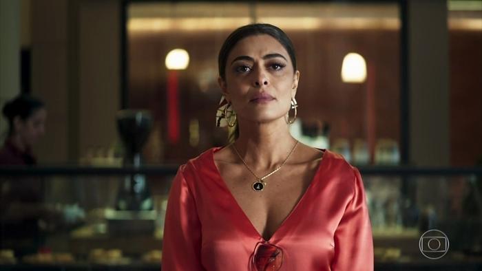 Juliana Paes (Maria da Paz) em cena de A Dona do Pedaço, que registrou audiência recorde (Foto: Reprodução/Globo)