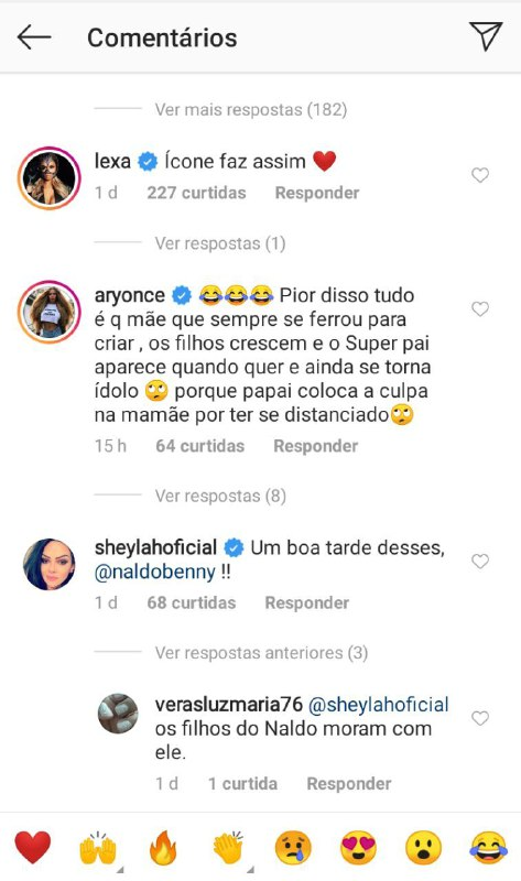 Internauta enxergou indireta para Naldo Benny, será? (Foto: Reprodução/ Instagram)