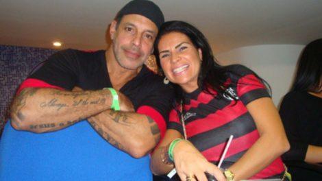 Alexandre Frota e Solange Gomes (Foto: Reprodução)