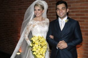 Antonia Fontenelle e seu ex-marido, Jonathan Costa (Foto: Reprodução)