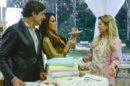 Olivier Anquier, Nadja Haddad e Beca Milano na estreia da 5ª temporada do Bake Off Brasil, que teve alta audiência (Foto: Zé Paulo Cardeal/SBT)