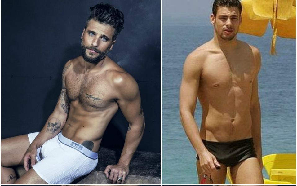 Cauã Reymond e Bruno Gagliasso são alguns dos famosos da Globo que tiveram os pés expostos em uma página de podolatria (fetiche) no Instagram (Reprodução)