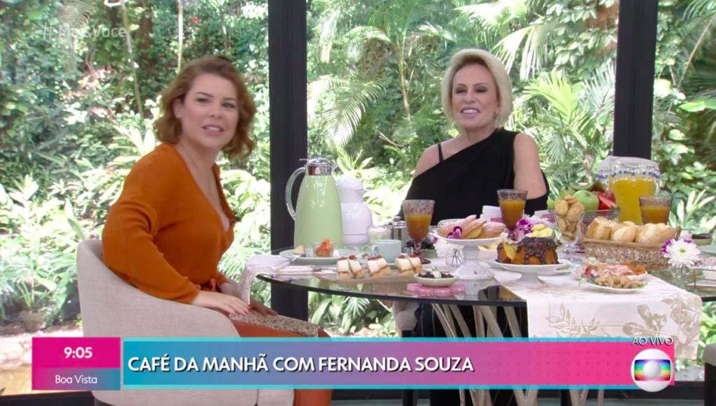 Fernanda Souza e Ana Maria Braga