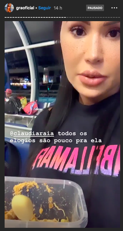 Gracyanne Barbosa, Claudia Raia, Belo