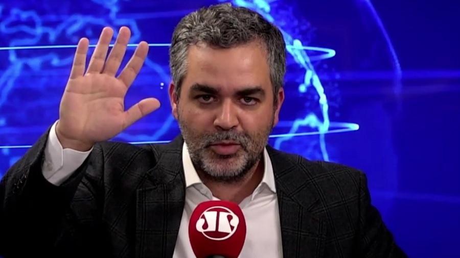 O apresentador Carlos Andreazza pediu demissão da Jovem Pan (Imagem: Divulgação)
