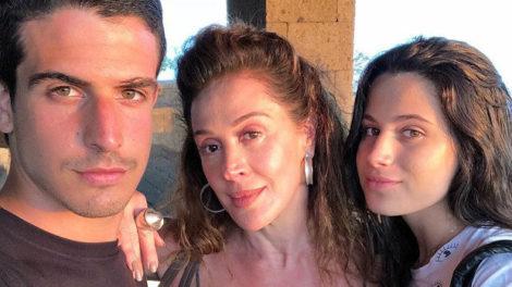 Claudia Raia, Enzo Celulari e Sophia Celulari (Foto: Reprodução/Instagram)
