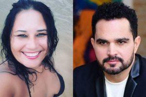 Cleo Loyola e Luciano Camargo (Foto: Reprodução/Instagram/Montagem TV Foco)