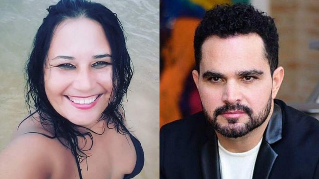 Cleo Loyola foi casada com Luciano Camargo no passado (Foto: Reprodução/Montagem TV Foco)