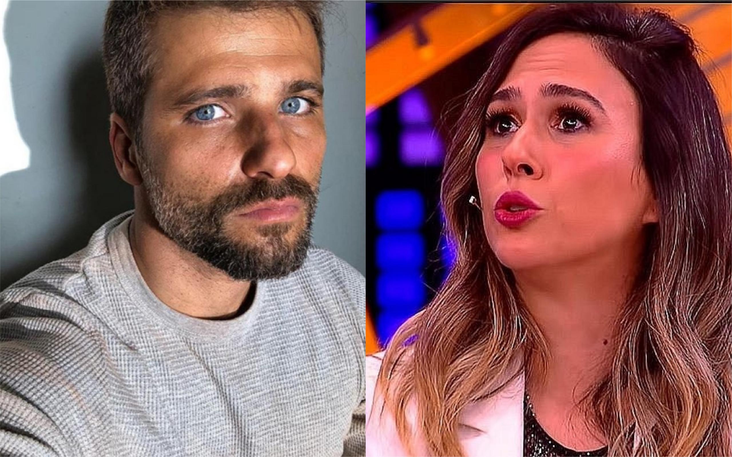 O ator Bruno Gagliasso e a apresentadora Tatá Werneck divertiram a internet com uma revelação bombástica (Foto: Divulgação / TV Foco)