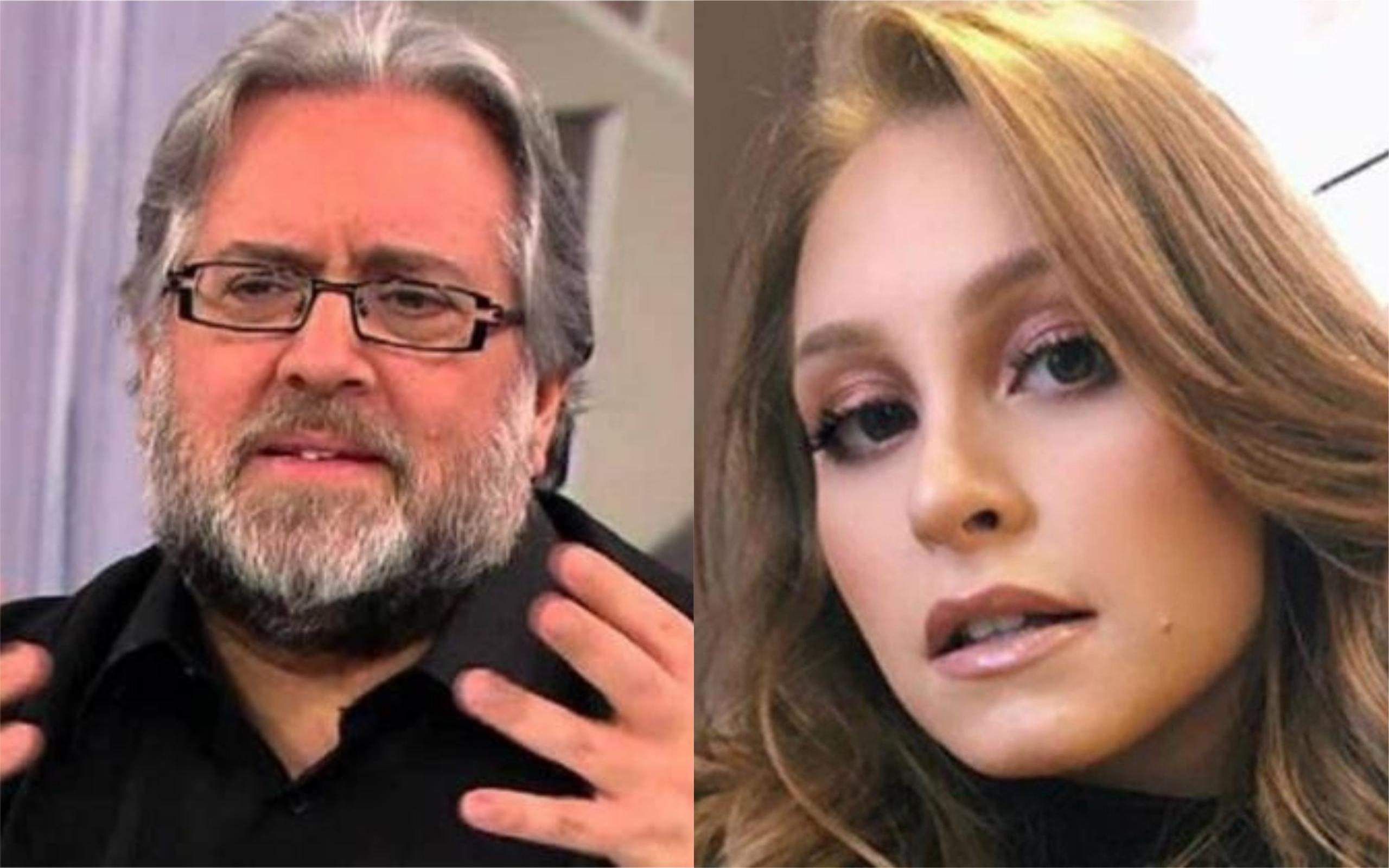Leão Lobo detonou a atriz Carla Diaz (Foto: Divulgação / TV Foco)