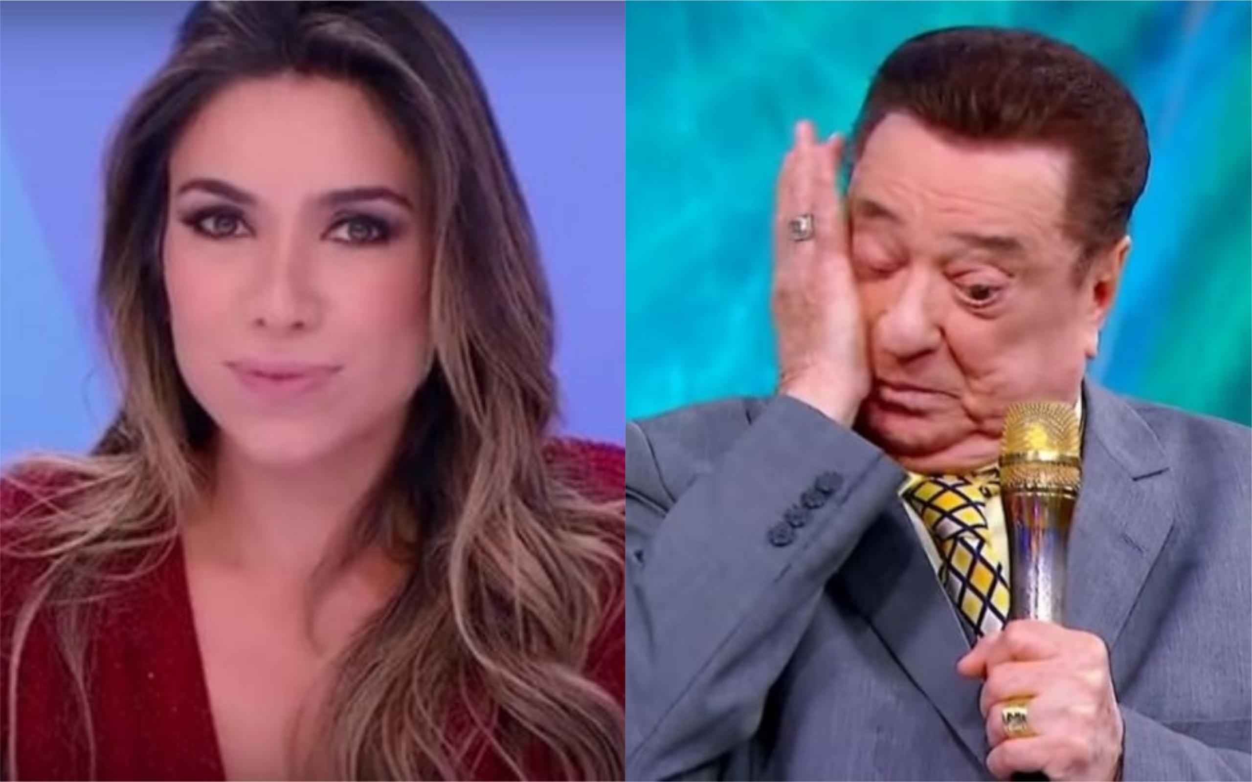 Patricia Abravanel 'roubou' uma hora de Raul Gil para estrear novo programa e apresentador não gostou (Foto: Divulgação / TV Foco)