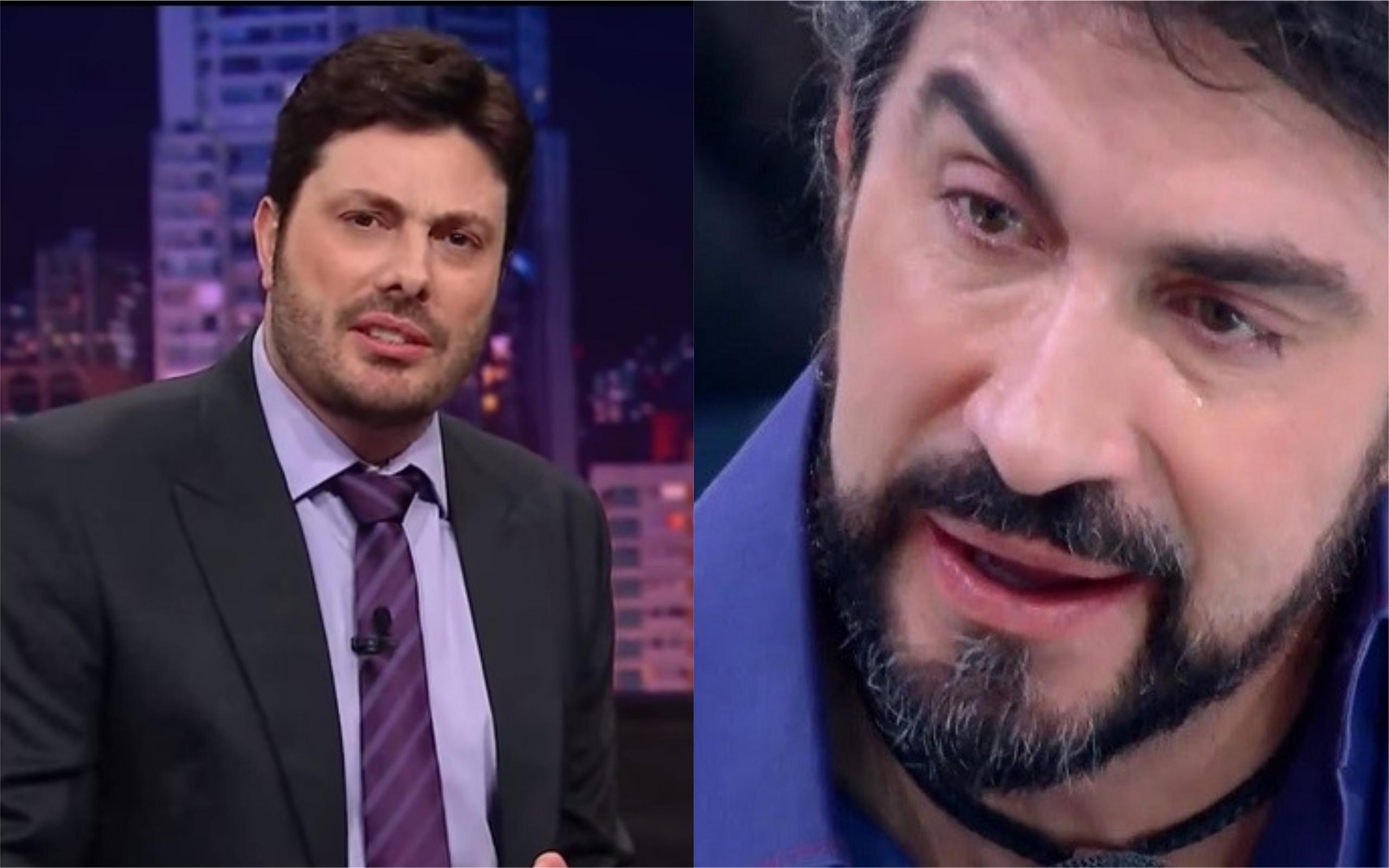 O apresentador Danilo Gentili, do SBT, abriu o jogo sobre o Padre Fábio de Melo e defendeu o religioso de ataques nas redes sociais (Foto: Divulgação / TV Foco)