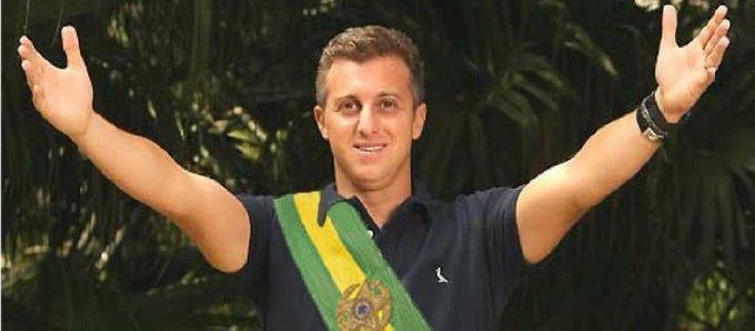 Apresentador Luciano Huck que ser o novo presidente do Brasil (Reprodução)