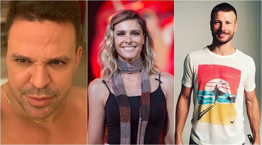 Eduardo Costa, Fernanda Lima e Rodrigo Hilbert voltaram a virar assunto após grande polêmica (Foto: Reprodução)