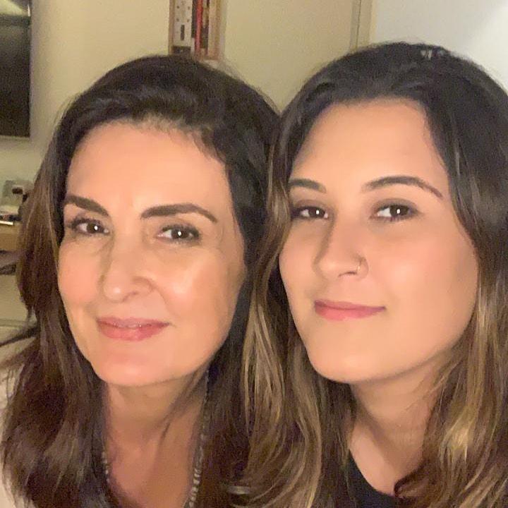 Fátima Bernardes e Bia Bonemer (Foto: Reprodução/Instagram)