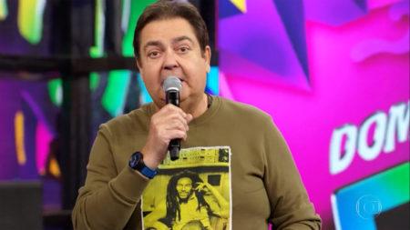Ivi Pizzott, revela como é trabalhar com Fausto Silva, o Faustão, no Domingão da TV Globo (Foto: Divulgação)