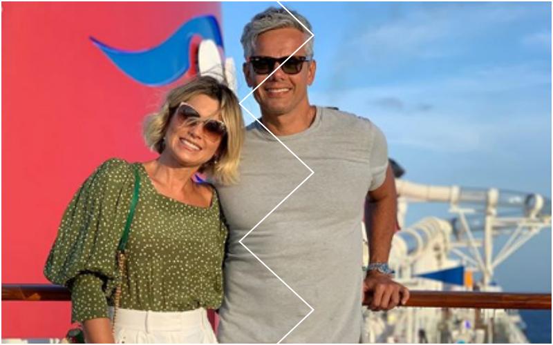 Otaviano Costa e Flávia Alessandra (Foto: Reprodução)