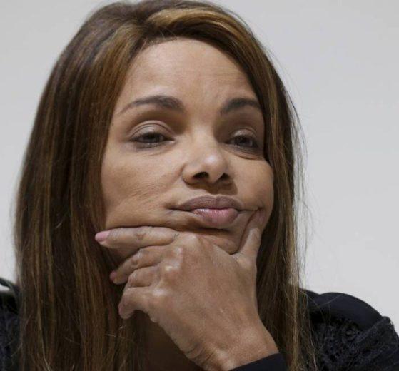A deputada federal Flordelis, é acusada de envolvimento na morte de cunhada e irmã do Pastor Anderson do Carmo (Foto: Reprodução)