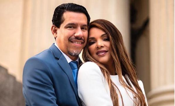 A deputada federal e o seu esposo, Pastor Anderson do Carmo que foi brutalmente assassinado em junho (Reprodução: Instagram)