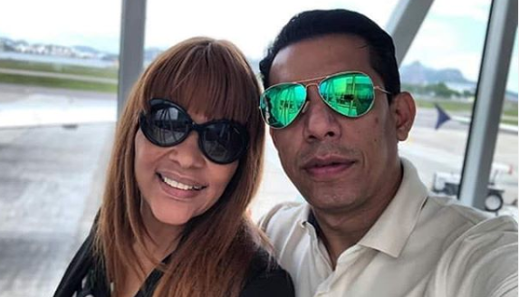 A deputada federal, Flordelis e seu esposo, Pastor Anderson do Carmo (Foto: Reprodução)