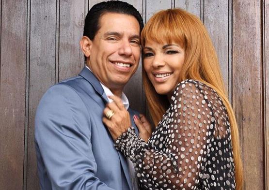 A deputada federal e o seu esposo, Pastor Anderson do Carmo que foi brutalmente assassinado (Reprodução: Instagram)