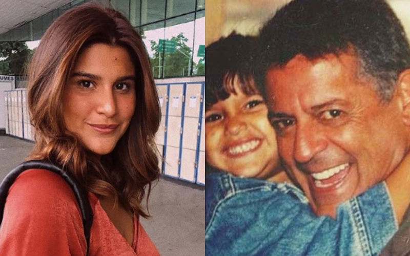 A filha do ex-diretor da Globo, Marcos Paulo, Giulia Costa (Foto: montagem)