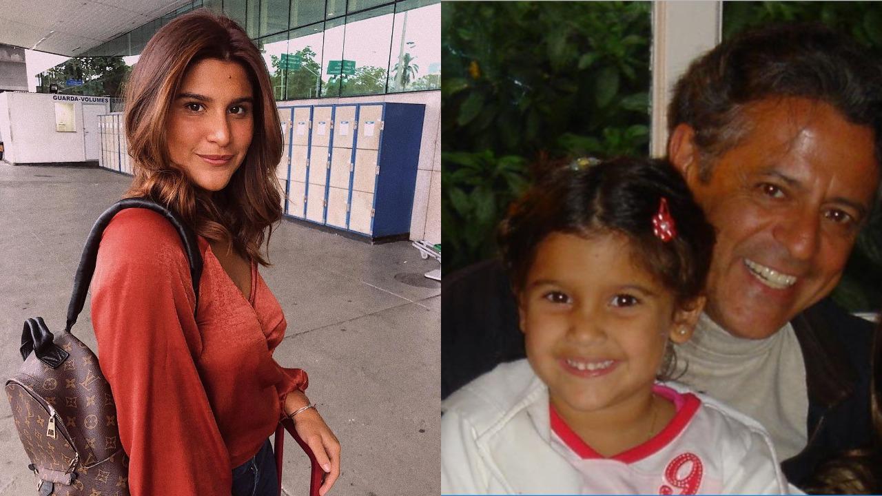 Giulia Costa seguirá passos de seu pai, Marcos Paulo (Foto: Reprodução/Instagram/Montagem TV Foco)
