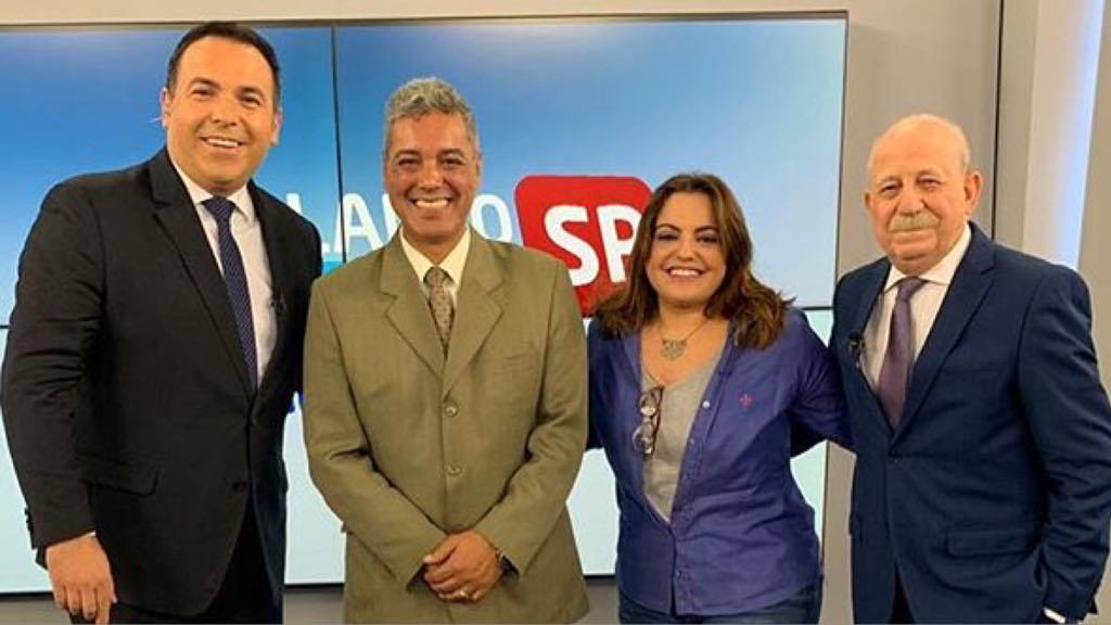Reinaldo Gottino, Cabrabom, Fabíola Reipert e Lombardi (Imagem: Instagram)