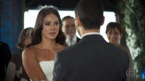 Vivi Guedes e Camilo em cena de A Dona do Pedaço (Foto: Reprodução)