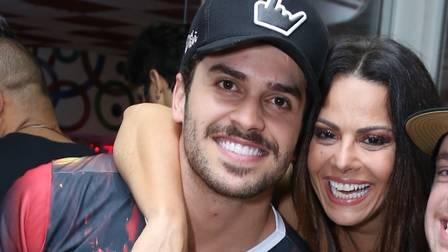 Kainan Ferraz e Viviane Araújo namoraram em 2017 (Foto: Reprodução)