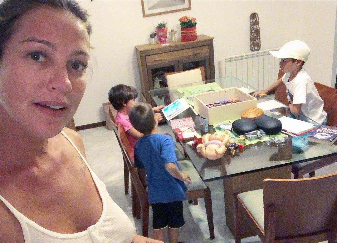 Luana Piovani, Liz, Dom e Bem (Foto: Reprodução/Instagram)