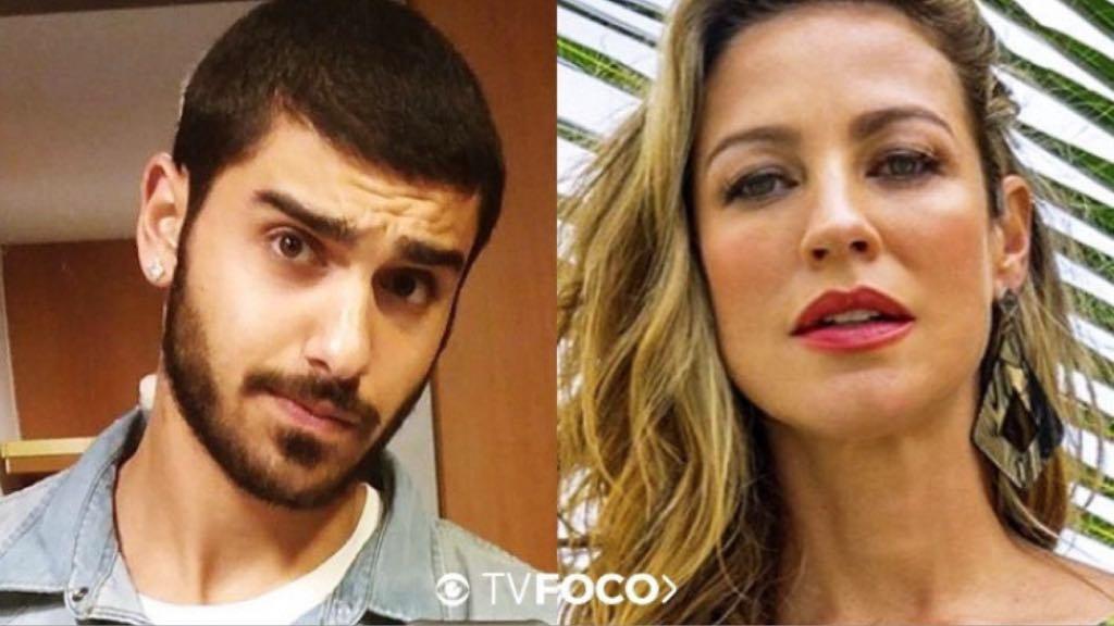 Luana Piovani e Ofek Malka, jogador de basquete publicou um treino esportivo prá lá de sensual (Montagem: TV Foco)