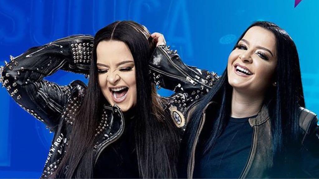 Maiara e Maraísa causam nos bastidores do Só Toca Pop da Globo (Imagem: Instagram)