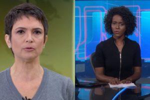 Sandra Annenberg e Maju Coutinho (Foto: Divulgação/TV Globo/Montagem TV Foco)