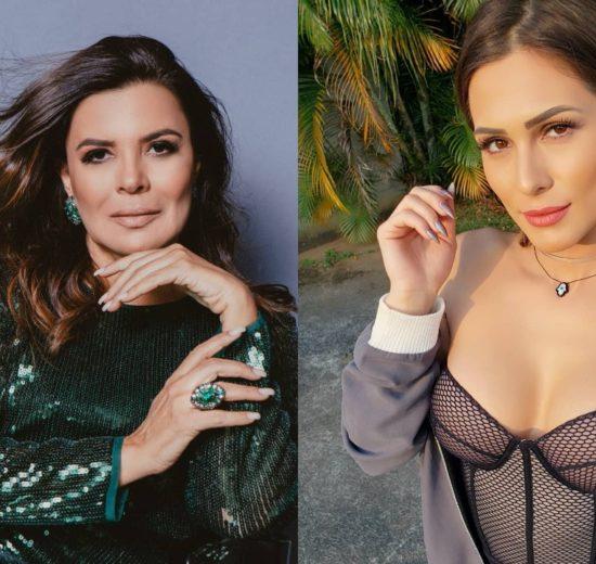 Mara Maravilha e Lívia Andrade (Foto: Reprodução/Instagram/Montagem TV Foco)