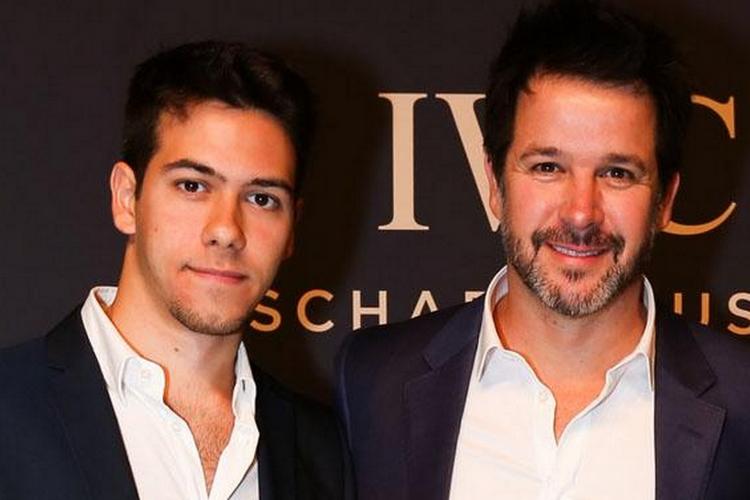 Murilo Benício e Antônio Benício, o ator estreia na próxima novela da Globo (Imagem: Caras)
