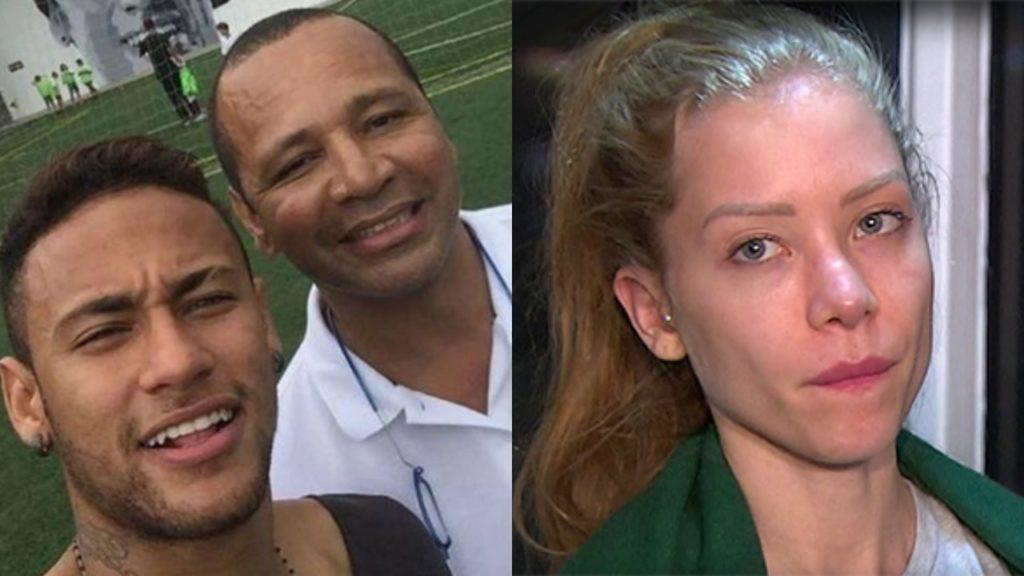 Neymar pai, filho e Najila Trindade (Foto: Reprodução/Montagem TV Foco)
