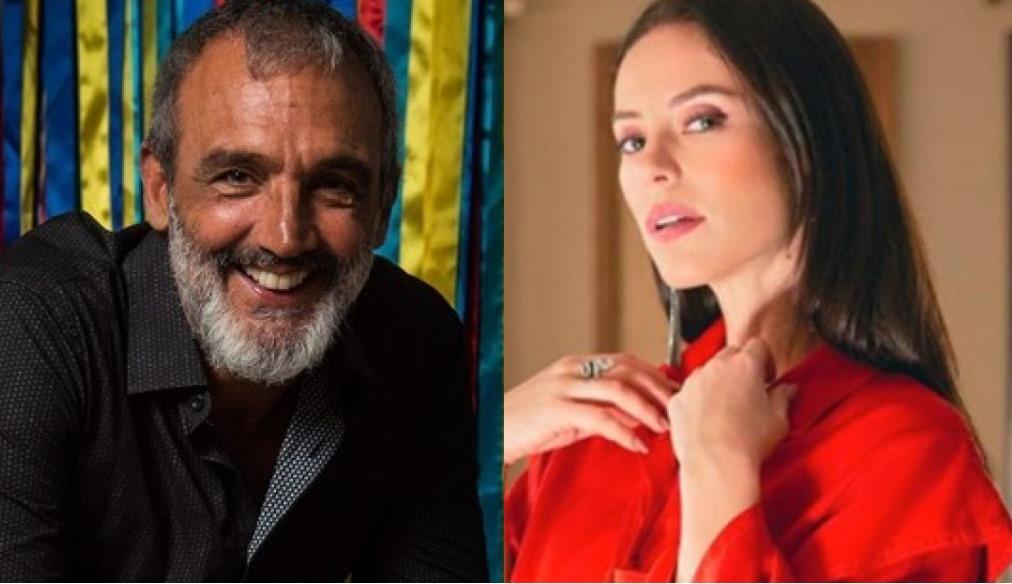 Papinha e Paolla Oliveira (Foto: Montagem/TV Foco)