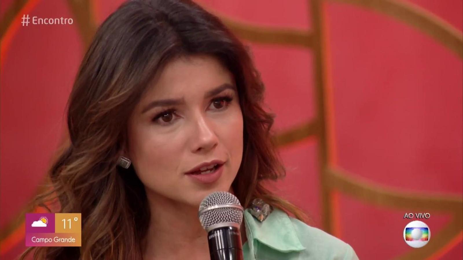 Paula Fernandes (Foto: Divulgação/TV Globo)