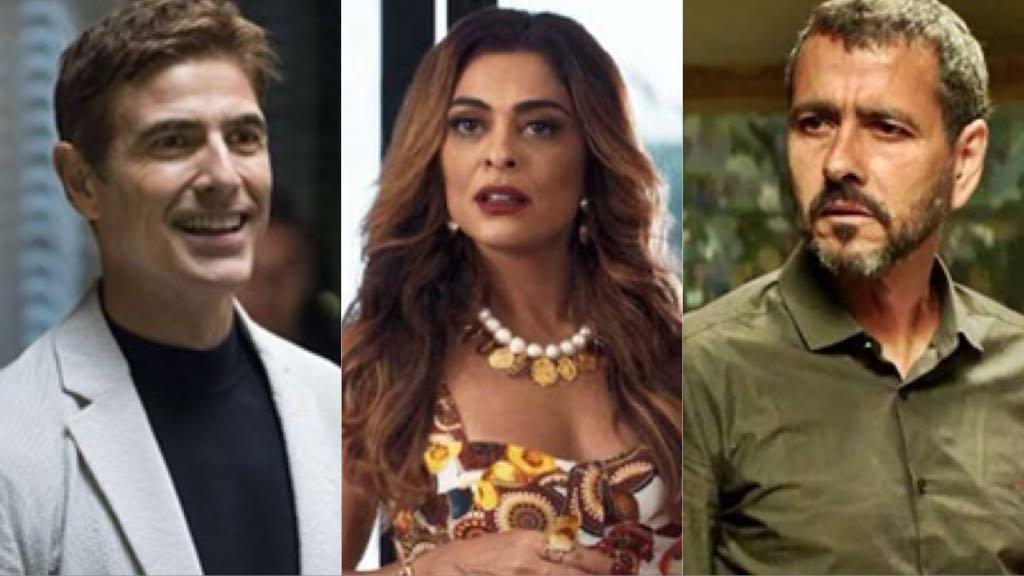 Régis irá se apaixonar por Maria da Paz e não assinará o divórcio preparado por Amadeu (Montagem: TV Foco)