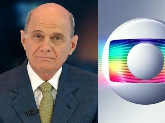 Ricardo Boechat foi citado em jornal na Globo (Foto: Montagem)