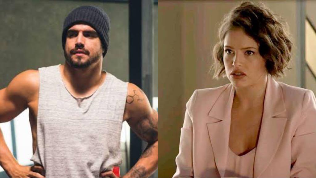 Rock irá perceber que Josiane está sendo ameaçada por Fabiana em A Dona do Pedaço (Montagem: TV Foco)