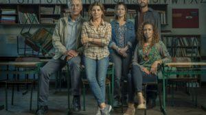 Elenco da nova série da Globo, Segunda Chamada (Foto Mauricio Fidalgo/ Globo)