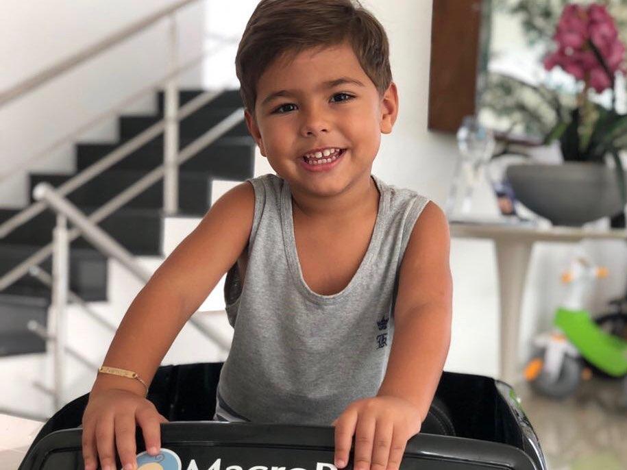Henry, filho de Simone (Foto: Reprodução/Instagram)